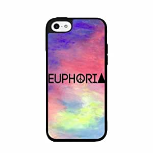 Euphoria Trendy - Plastic Phone Case Back Cover (iPhone 5c)