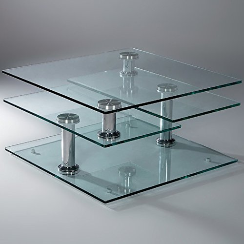 Metro Oval Dining Table (Motion Glass Coffee Table -)