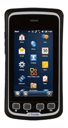 Price comparison product image Trimble JUNO T41, Microsoft Windows Embedded Handheld, 800 MHz 256MB/8GB, IP68, Grey, Bluetooth Wi-Fi, 2-4M GPS, 8MP Camera (P/N T41CLN-TGW-00)