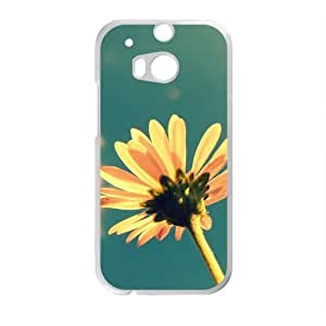 Personalized Creative Cell Phone Case For HTC M8,flowers and sky