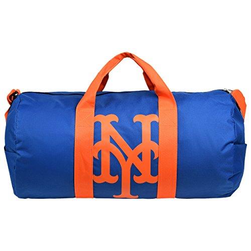 New York Mets Bean Bag - New York Mets Vessel Barrel Duffle Bag