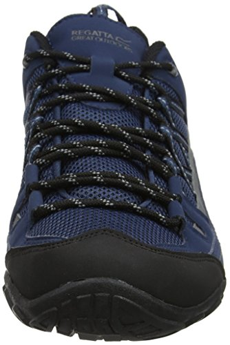 Chaussures II Homme 7 de Low 2l8 Bleu Regatta UK Edgepoint Randonnée Dkden Denim Charco Basses Foncé 5tw0xvqx