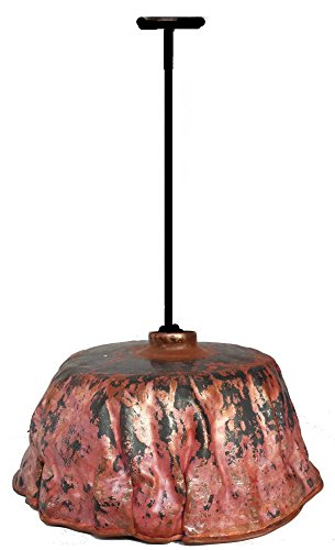 Rustic Fire Burnt Old World Artistic Kitchen Lamp Ceiling Pendant Lighting Fixture by Egypt gift shops