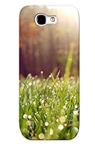 High-quality Durability Case For Galaxy Note 2(nature Sun Grass Lens Flare )