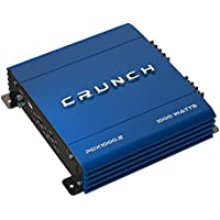 Crunch PowerDriveX 1000 Watt 2 Channel Exclusive Blue A/B Car Stereo Amplifier