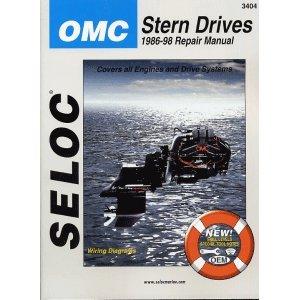 OMC COBRA STERN DRIVE REPAIR MANUAL, (Stern Drive Repair)