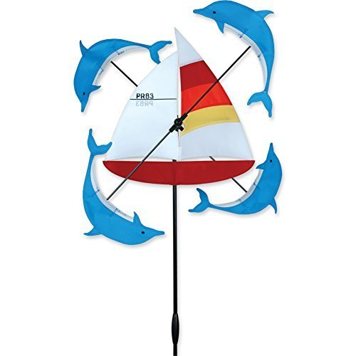 Whirligig Spinner – 13 in。ヨットSpinner by PREMIER KITES B018WLK2UG