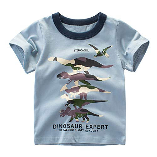 Halloween 5 Ending Scene (WOCACHI Toddler Kids Baby Boys Cartoon Dinosaur T Tshirt Tops Short-Sleeve 1PCS Outfits 0-3M 0-6M 3-6 Mos 6-9M 9-12M 6-12M 12-18M 18-24M 0-3T 0-24 Months 2 Years and Up 2T)