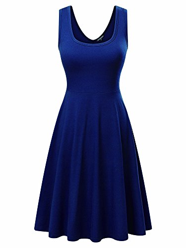Buy dress with a flared bottom - 5