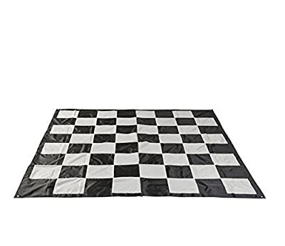 MegaChess Large Chess and Checkers Game Mat - Nylon - Large Size