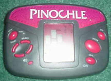 Electronic Pinochle Game