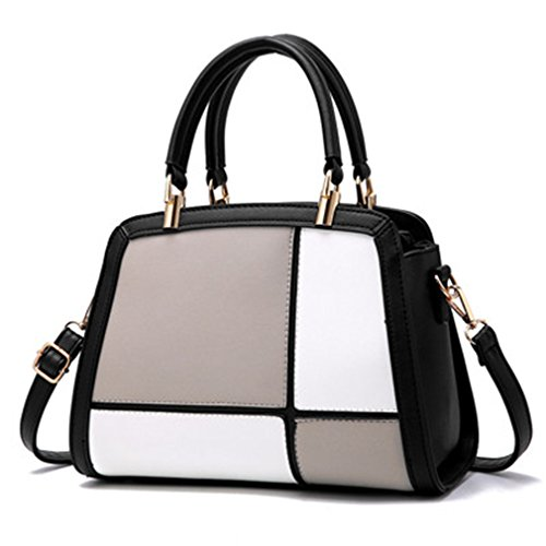 Bags Bag HandbagsHand Women Bag Handbags Leather For Female Messenger Women Shoulder Grey zvwFqnw0