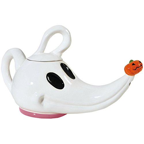 Westland Giftware 26-Ounce Ceramic Teapot, 7.25-Inch, Disney Nightmare Before Christmas Zero
