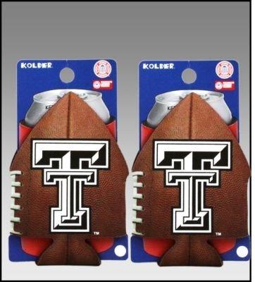 ( 2 )テキサスTechレッドRaiders Football Can Coolie Koozies B002ZKGQMO