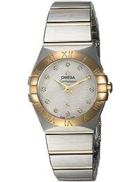 Women's 'Constellation' Swiss Quartz Stainless Steel Dress Watch, Color:Two Tone (Model: 12320276055008)