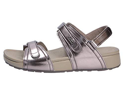 Leather Amalfi Silver Joya Dark Sandals Ii Synthetic Womens BTBfPq