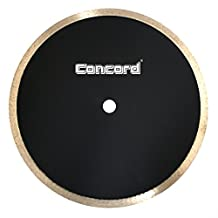 Concord Blades CRS100G10HP 10 Inch Continuous Rim Diamond Tile Blade