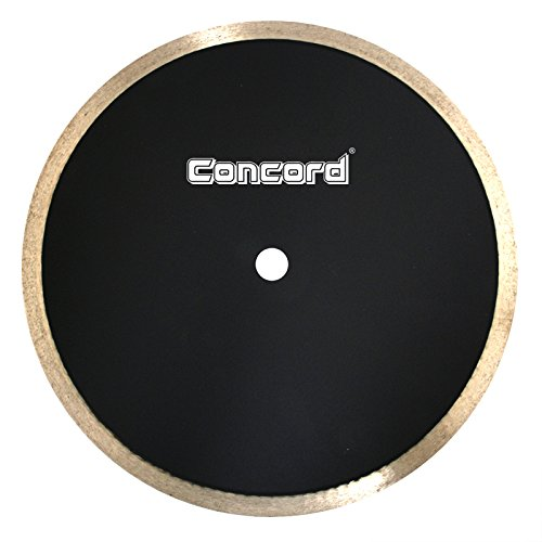 Concord Blades CRS100G10CP 10 Inch Continuous Rim Diamond Tile (Glass Saw Blade)