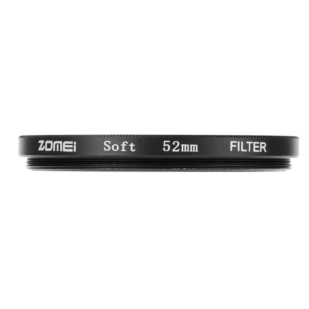 Filtro Difusor Ultra Delgado Suave del Difusor del Efecto del Marco de Aluminio del Vidrio /óptico para DSLR EBTOOLS Filtro de la Lente de la C/ámara 52mm