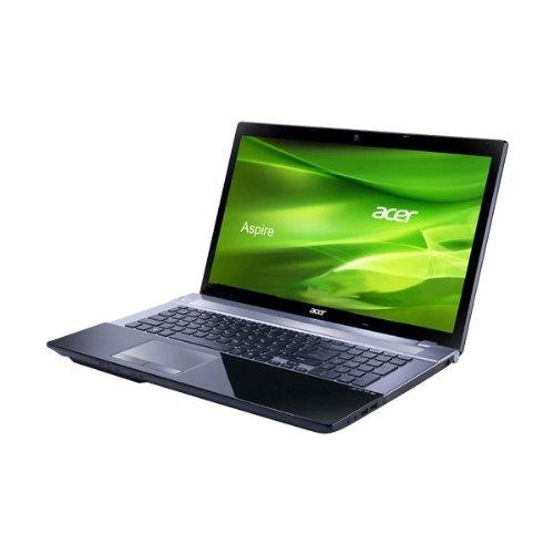 Acer Aspire V3-771G - Ordenador portátil 17 pulgadas (core i5, 4 GB de RAM, 2.5 GHz, 750 GB, Windows 7 Edition Home Premium) - Teclado QWERTY español: ...