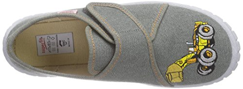 Superfit Bill - pantuflas Niños gris - Grau (STONE 05)