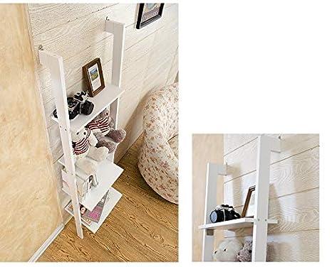 Scaletta In Legno Per Bagno : Amazinggirl scaffale a scala in legno libreria decorazione fiori
