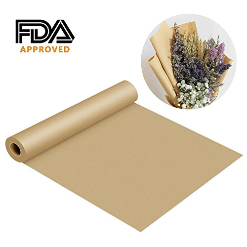 Kraft Paper Roll-30x1200(100ft) Brown Butcher Paper FDA Approved 100% Recycled Materials Great for Gift Wrapping, Packing, Craft, Art, Kids Canvas, Banquet