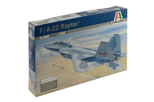 Italeri Models Lockheed Martin F-22 Raptor Plane Model for sale  Delivered anywhere in USA