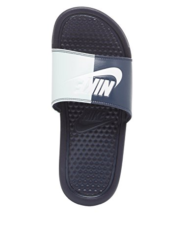 Azul Mujer Oscuro De Sandalias Para Nike Vestir Material Sintético x70OPfwq