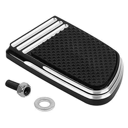 Frames & Fittings Small Brake Pedal Pad for Harley Heritage Softail Deluxe Switchback Touring FLHX (Touring Deluxe Scooter)