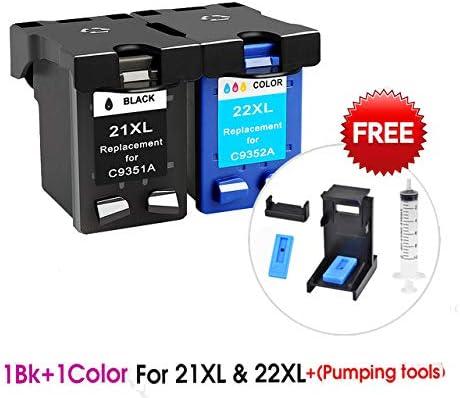 Cartucho de Tinta de Repuesto para HP 21 HP21 para HP 21xl Deskjet ...