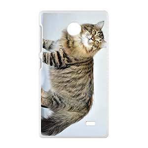 Cute Lovely Cat Kitten Phone Case for Nkia Lumia X