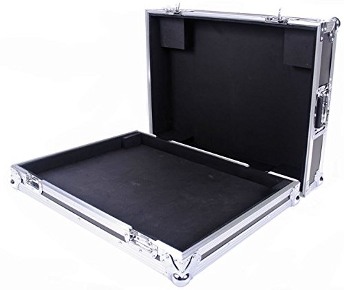 (Flight Mackie Profx22 /Profx22v2 Mixer Case With Removable Cover Glued Foam Piece Strategically Placed To Secure Your Mixer Ample Routing Space Provided In The Base Rear Section DEEJAYLED TBHPROFX22V2)