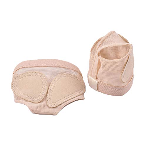 UPRIVER GALLERY Ballet Belly Dance Foot Thong Dance Paw Shoes Half Sole L Nude