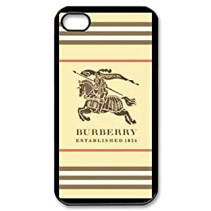 DIY Printed Burberry hard plastic case skin cover For iPhone 4,4S SNQ143343