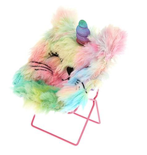 (Claire's Girl's Unicat Rainbow Papasan Chair Phone Holder -)