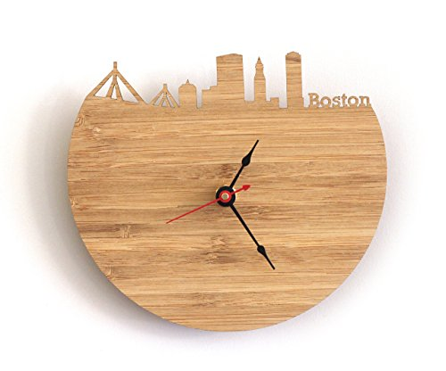Boston Skyline Clock
