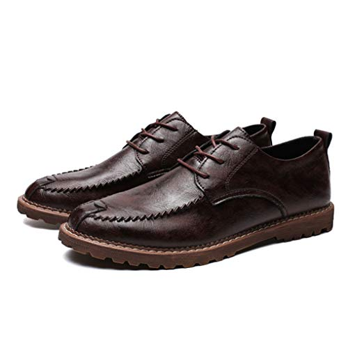 - Starttwin Dress Shoes for Men Fashion Trend Lace-up Non-Slip Office Business Oxford Shoes