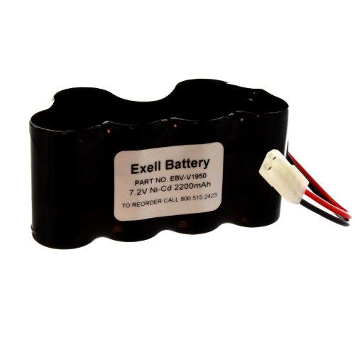 Exell Vacuum Battery 7.2V NiCD Battery for Shark V1950 VX3 XB1918