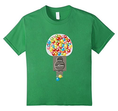 Kids Gumball Machine Costume Shirt Matching quarter couples bffs 8 Grass