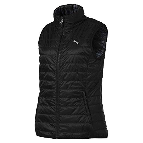 (Puma Golf Women's 2019 Pwrwarm Reversible Vest, Puma Black, x Large)