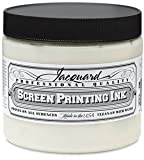 Jacquard Professional Screenprinting Ink - 119 Super Opaque White 16 fl oz