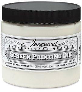 Jacquard JAC-JSI3117 Screen Printing Ink 16 oz Black from Jacquard