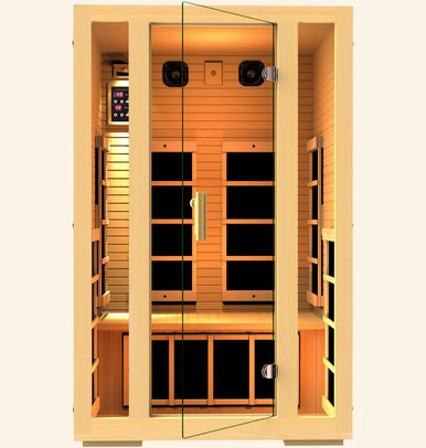 JNH Lifestyles MG217HB Joyous 2 Person Far Infrared Sauna (Jnh Lifestyles 2 Person Far Infrared Sauna)