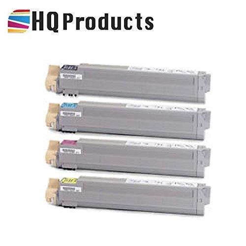 HQ Products Premium Compatible Replacement for 4Pk Xerox 106R01080, 106R01077, 106R01079, 106R01078 (Bk, C, Y, M) Laser Toner Cartridges Color Set. ()
