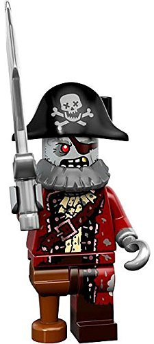 LEGO Series 14 Minifigure Zombie Pirate Captain]()