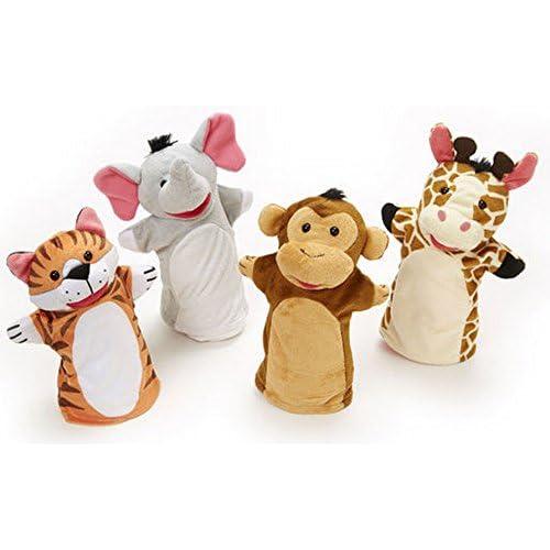 Melissa & Doug Kit de Marionnette pour figurines de marionnettes plastique 4voies Enfant de Kasper Théâtre de marionnettes Poupées Jeu de rôle, 36x 24cm, multicolore