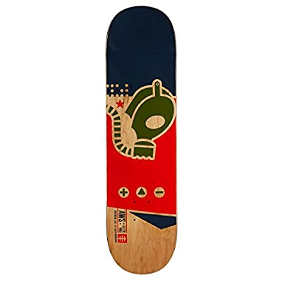 "Alien Workshop Gas Mask Medium Skateboard Deck - 8.25"" from Alien Workshop"
