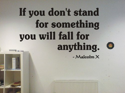 Malcom stand something famous Sticker