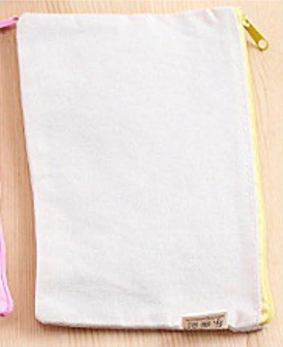 Speedmar - Estuche para lápices de tamaño Grande y Sencillo, Ideal como Regalo Creativo, para Manualidades, Tela de Lona, para Decorar y Pintar: Amazon.es: Hogar